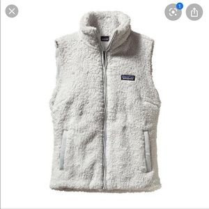 Patagonia Los Gatos Grey reversible vest